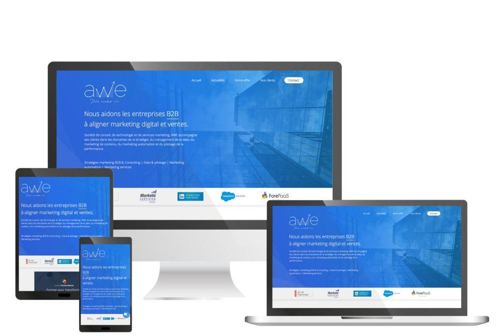 Site responsive AWE