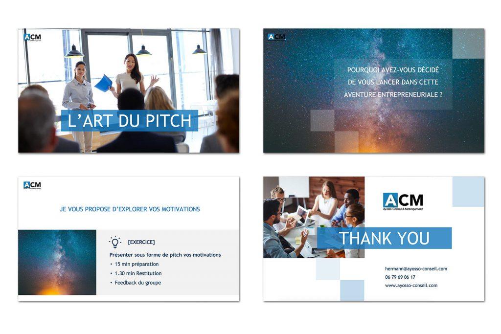 Présentation Powerpoint ACM