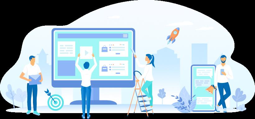 web, communication visuelle, création de sites internet, accompagnement dans vos projets digitaux