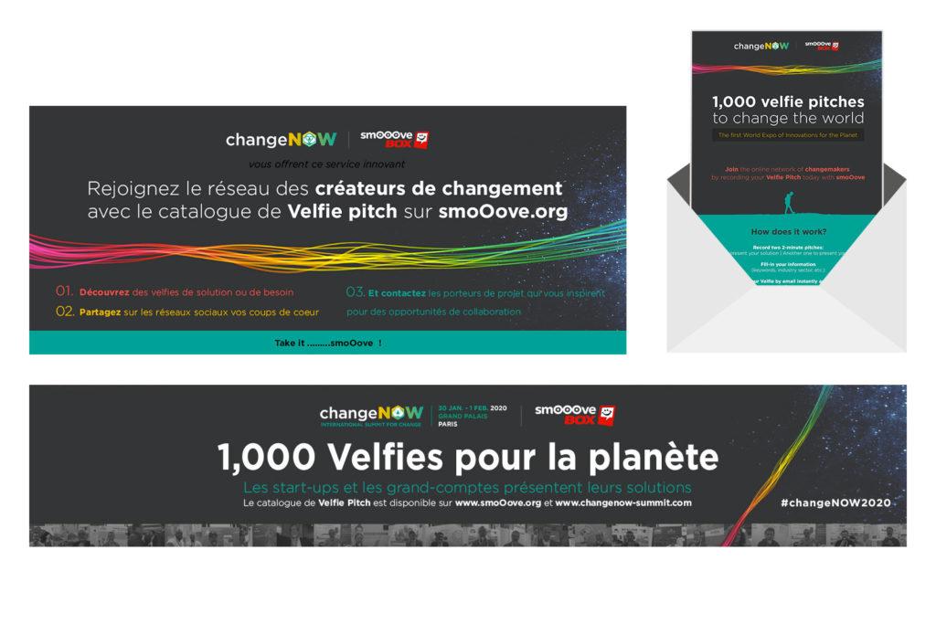 Visuels pour Smooovebox à changeNOW