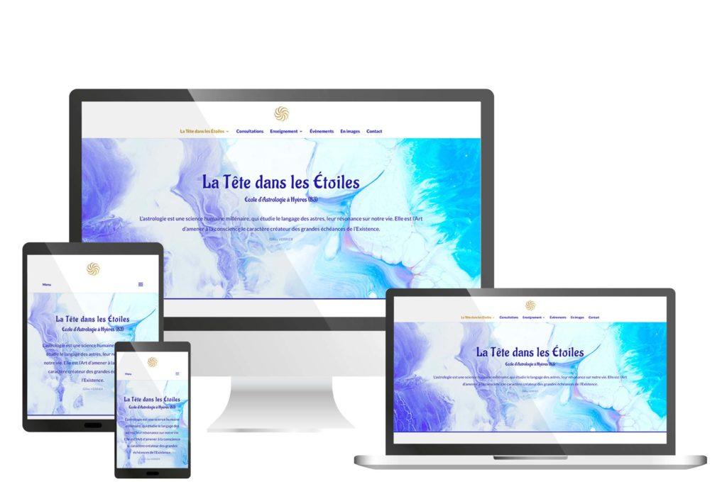 Création du site de La Tête dans les Etoiles